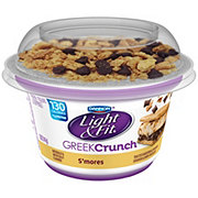 Dannon Light & Fit Greek Crunch Non-Fat S'mores Greek Yogurt