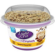 Dannon Light & Fit Greek Crunch Nuts for Bananas Greek Yogurt