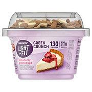 Dannon Light & Fit Greek Crunch Strawberry Cheesecake