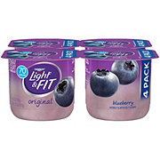 Dannon Light & Fit Non-Fat Blueberry Yogurt