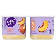 Dannon Light & Fit Non-Fat Peach Yogurt