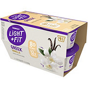 Dannon Light & Fit Non-Fat Vanilla Greek Yogurt