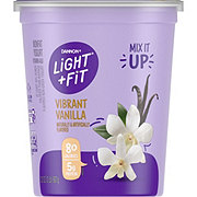 Dannon Light & Fit Nonfat Vanilla Yogurt