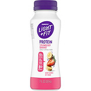Dannon Light & Fit Protein Smoothie Non-Fat Strawberry Banana Yogurt Drink