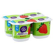 Dannon Light & Fit Zero Strawberry Yogurt