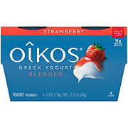 Dannon Oikos Strawberry Greek Yogurt