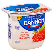 Dannon Stawberry Whole Milk Yogurt