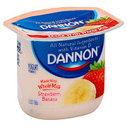 Dannon Whole Milk Strawberry Banana