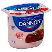 Dannon Whole Milk Yogurt Cherry