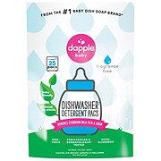 Dapple Automatic Dishwasher Pods, Fragrance Free
