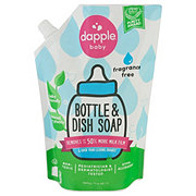 Dapple Bottles And Dishes Fragrance Free Refill