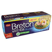 Dare Breton White Bean Salt And Pepper Crackers