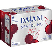 Dasani Black Cherry Sparkling Water 12 oz Cans