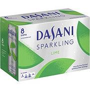 Dasani Sparkling Lime 12 oz Cans