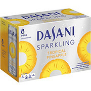 Dasani Sparkling Tropical Pineapple 12 oz Cans