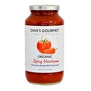 Dave's Gourmet Spicy Heirloom Marinara Pasta Sauce
