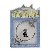 Dave Workman Jr. Pro Series Live Bait Rig, Twin Pack