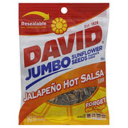 David Jumbo Jalapeno Hot Salsa Sunflower Seeds