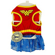 DC Comics Wonder Woman Dog Costume