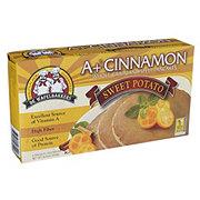 De Wafelbakkers A+ Cinnamonn Spelt Sweet Potato Pancakes