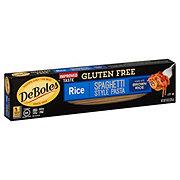 DeBoles Gluten Free Spaghetti Style Rice Pasta
