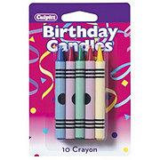 Decopac Multi Crayon Candles