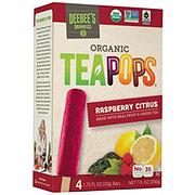 Deebee's Organic Tea Pops Raspberry Citrus