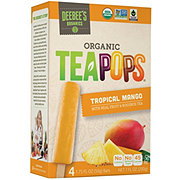Deebee's Organic Tea Pops Tropical Mango