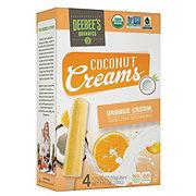 Deebee's Organics Coconut Creams Orange Cream