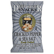 Deep River Snacks Kettle Cooked Sea Salt & Cracked Pepper Potato Chips