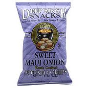 Deep River Snacks Kettle Cooked Sweet Maui Onion Potato Chips