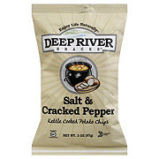 Deep River Snacks Salt & Cracked Pepper Kettle Cooked Potato Chips