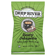 Deep River Snacks Zesty Jalapeno Potato Kettle Chips