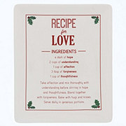 DEI Recipe for Love Plate