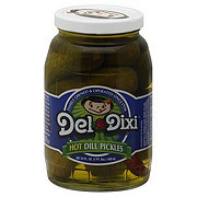 Del Dixi Hot Dill Pickles
