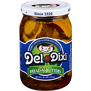Del Dixi Jalapeno Bread-N-Butters