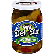 Del Dixi Snappy Garlic Dill Pickles