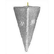Del Mar 4 OZ Pyramid Sinker 2 CT