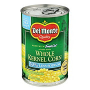 Del Monte 50% Low Sodium Whole Kernel Corn