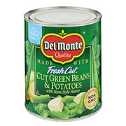 Del Monte Blue Lake Cut Green Beans and Potatoes With Ham Style Flavor
