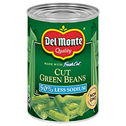 Del Monte Blue Lake  Low Sodium Cut Green Beans
