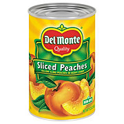Del Monte California Sliced Peaches in Heavy Syrup