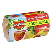 Del Monte Cherry Mixed Fruit In Light Syrup Cherry Flavor