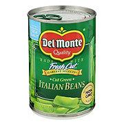 Del Monte Cut Green Italian Beans