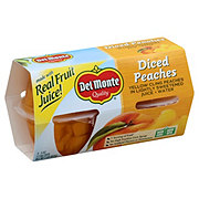 Del Monte Diced Peaches in Juice