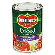 Del Monte Diced Tomatoes with Green Pepper and Onion