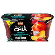 Del Monte Fruit & Chia Peach in Strawberry Dragon Fruit