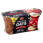 Del Monte Fruit & Oats Apple Cinnamon Cups