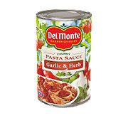 Del Monte Garlic & Herb Chunky Pasta Sauce