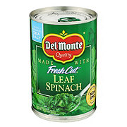 Del Monte Leaf Spinach